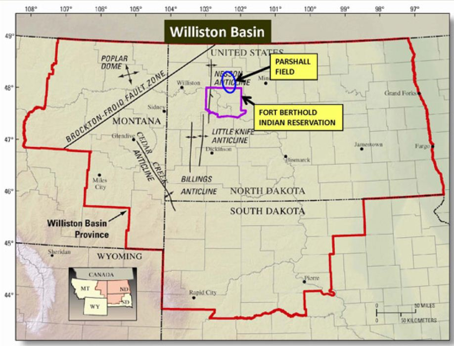 Map Of Bakken Oil Wells Pictures To Pin On Pinterest